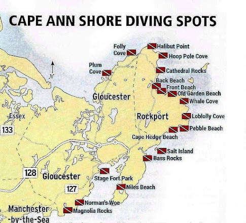 Cape Ann Dive Sites
