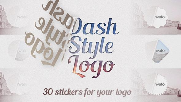 VideoHive Dash Style Logo