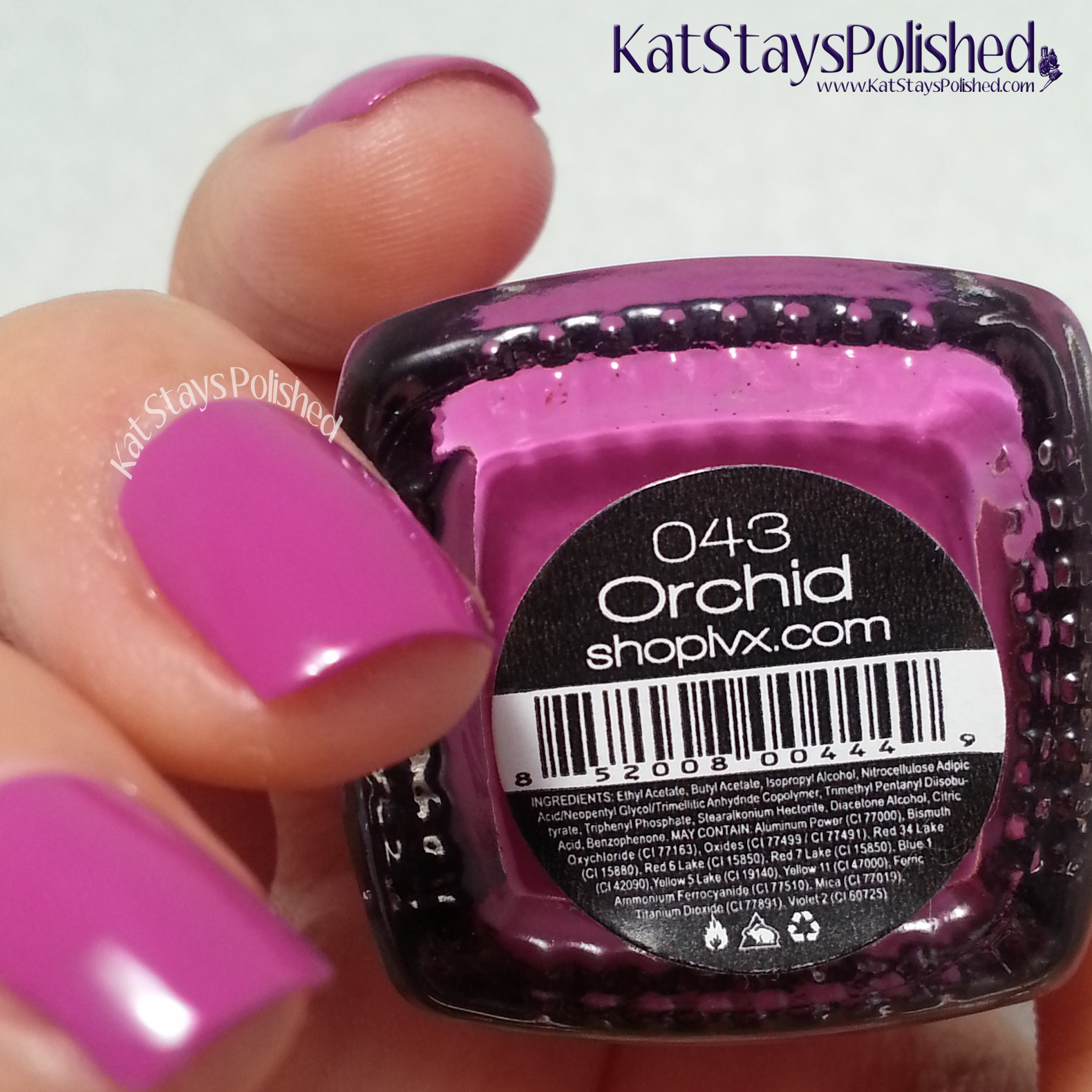 LVX Spring 2014 - Orchid | Kat Stays Polished