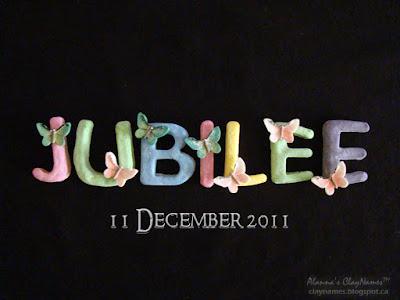 Jubilee Decmeber 11 2011 Claynames