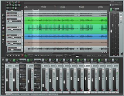 REAPER v4.402 - Sequenciador de Audio