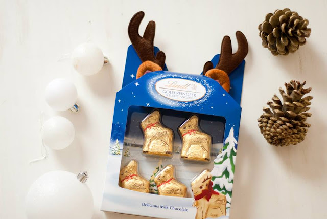 lindt, christmas, food, blog, blogger, hot, chocolate, reindeer, bear