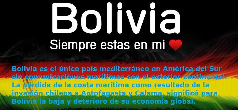 MI BOLIVIA AMADA