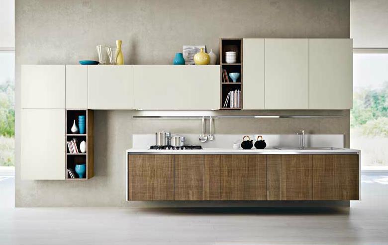 Cocinas lineales: para gustos exigentes   cocinas con estilo