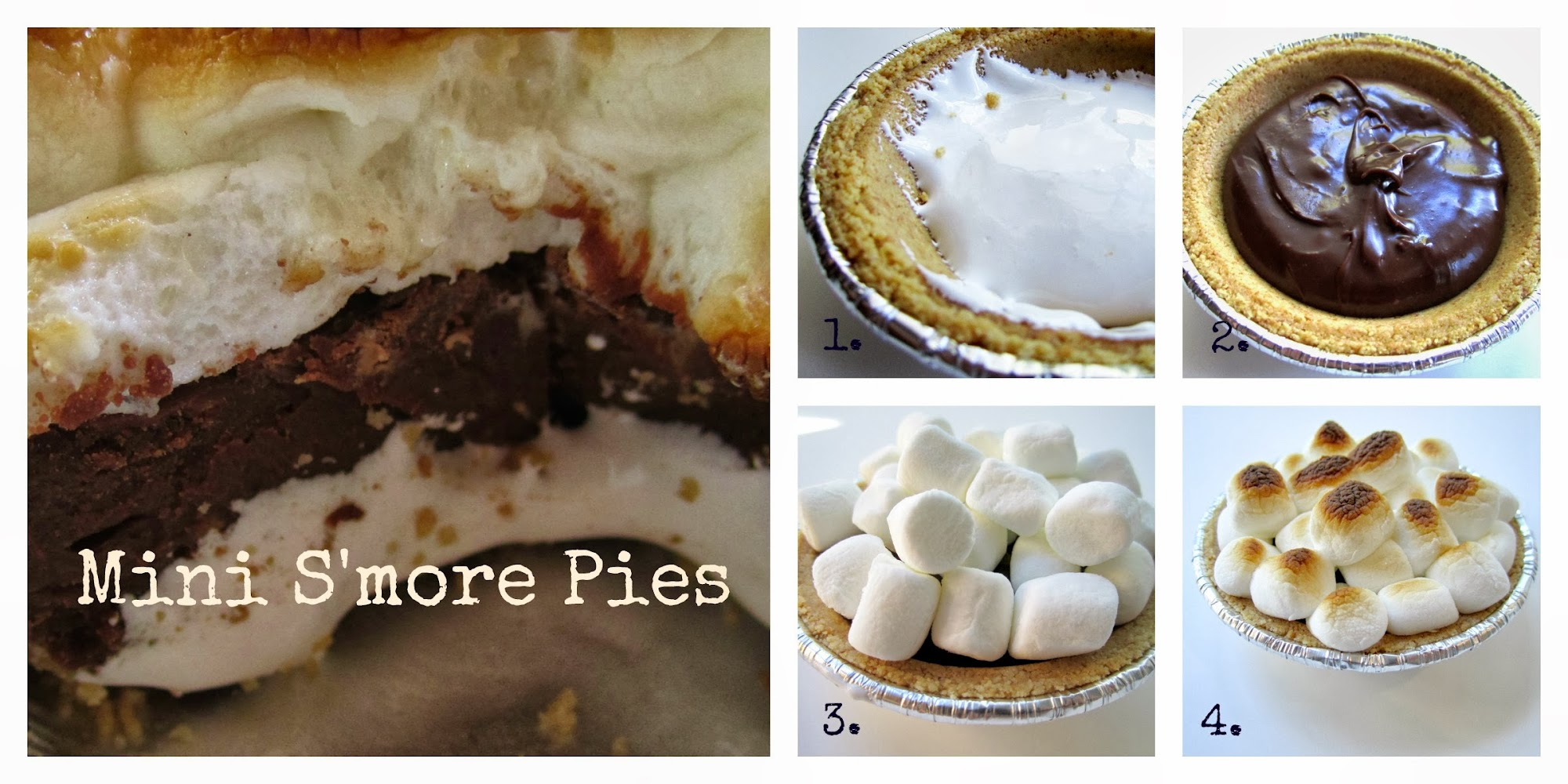 Individual s'more pies great for parties