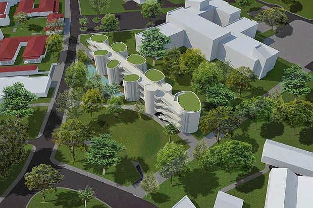 Nuevo Edificio Aulas de Ciencias Campus UNAL Sede Bogotá