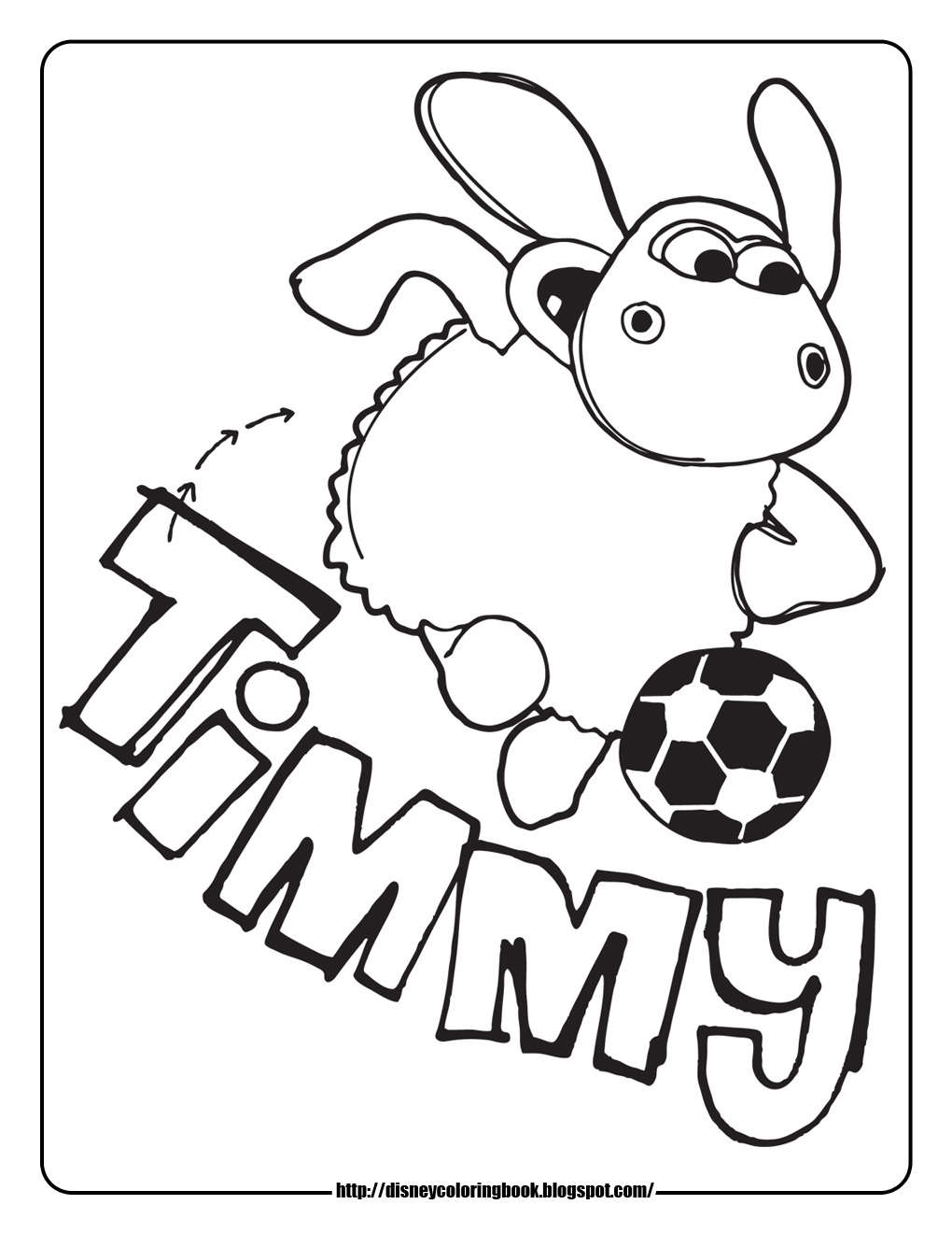 Disney Coloring Pages And Sheets For Kids Timmy Time 1 Free