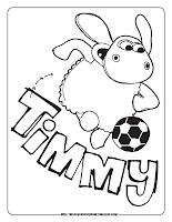 timmy time coloring pages