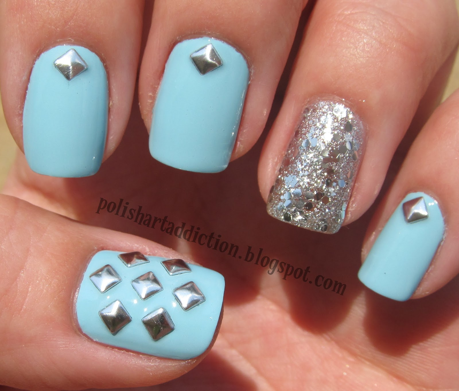 nail design with studs - 28 images - top 20 studded nail designs you ...