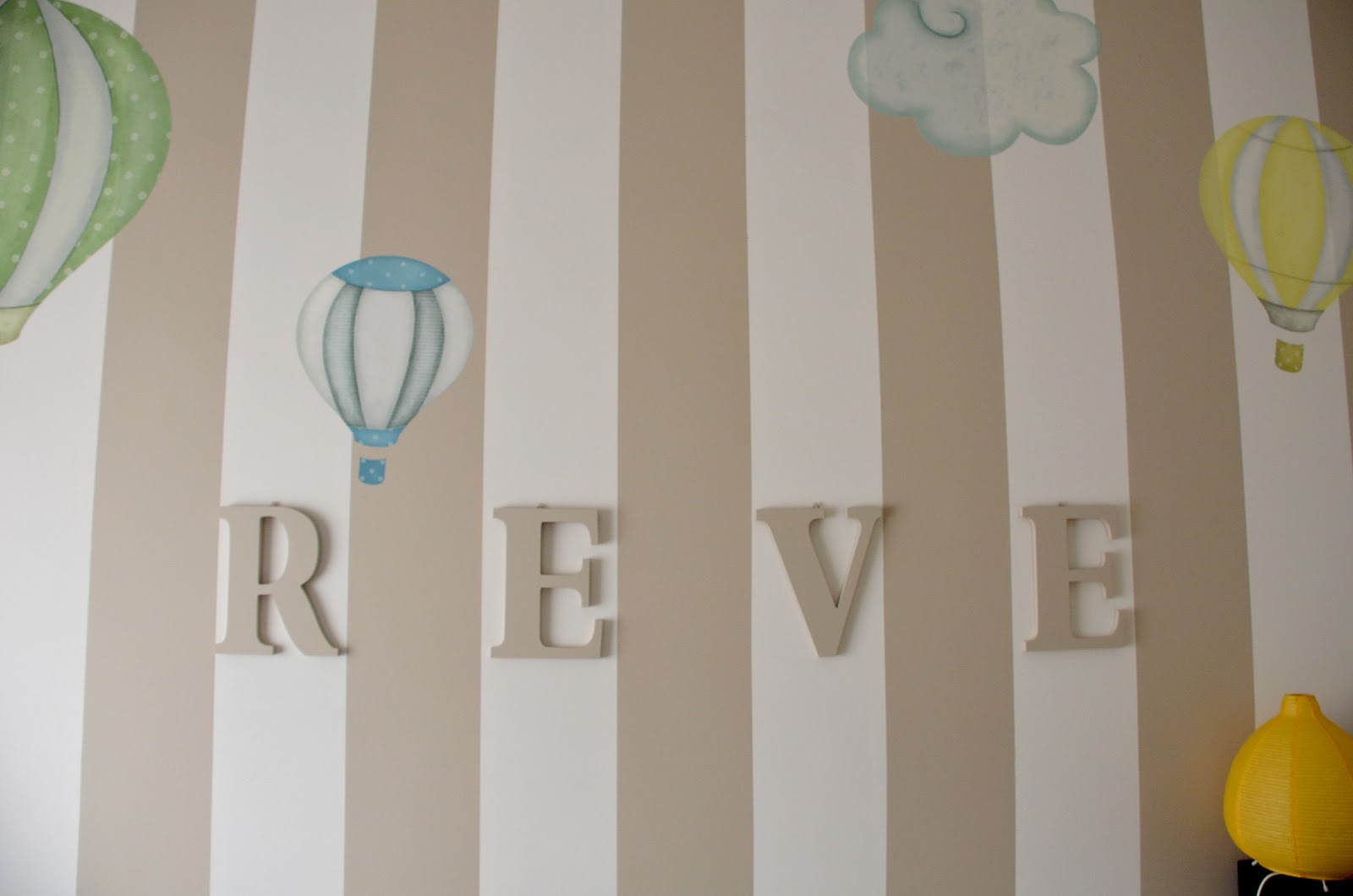 Pareti Cameretta A Pois : Decorare le pareti di una cameretta bambini