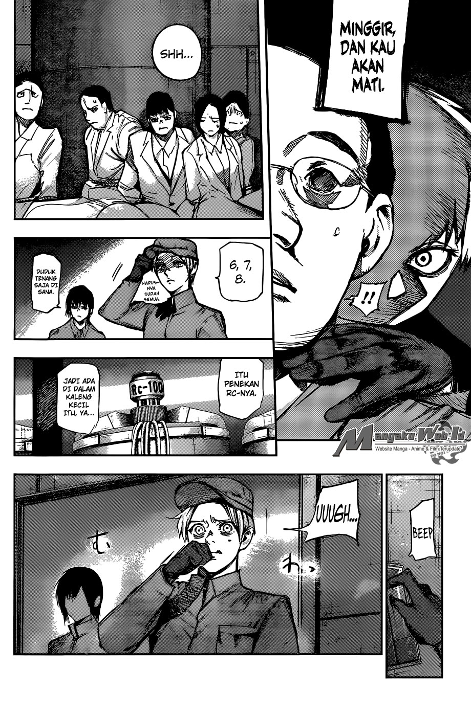 Tokyo Ghoul:re Chapter 110-16