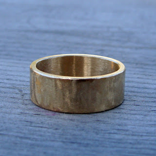 recycled gold band