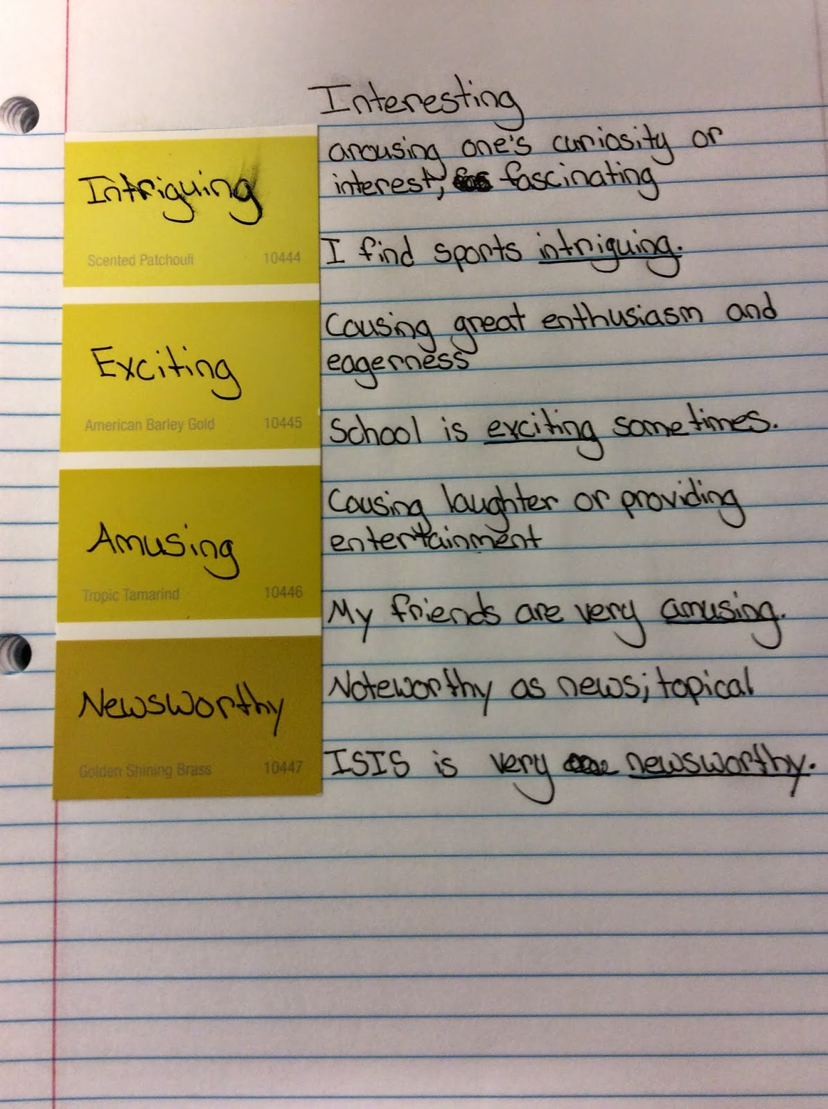 Innovating the Wheel Shades of Meaning – Connotation Vs Denotation Worksheet