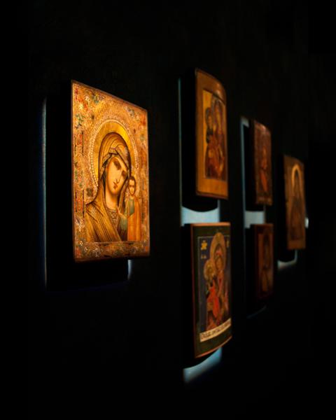 Monaster Zwiastowania Najświętszej Marii Panny, Supraśl: Ikony