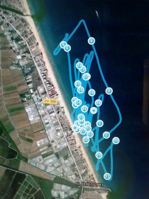 track kite race