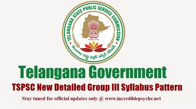 How to Download Telangana TSPSC Group III Services Syllabus in Telugu