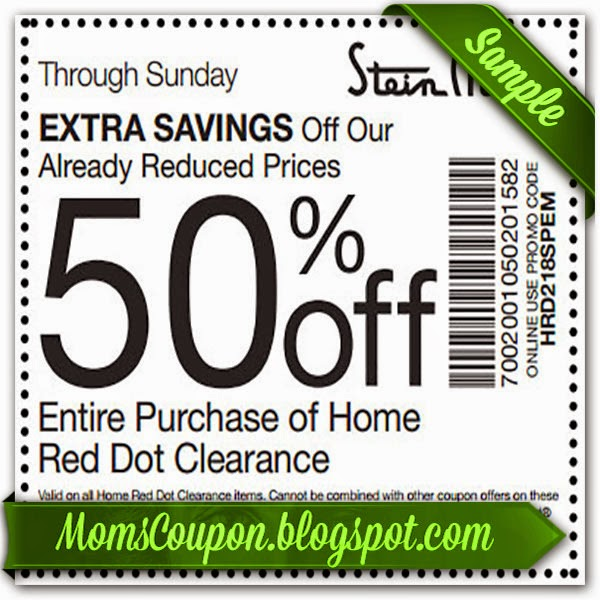 Need printable coupons for steinmart