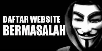 website bermasalah