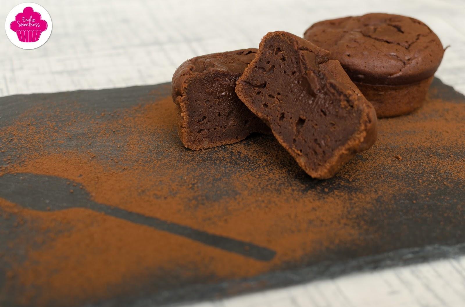 Emilie sweetness fondant au chocolat et la cr me de marrons - Fondant chocolat creme de marron ...
