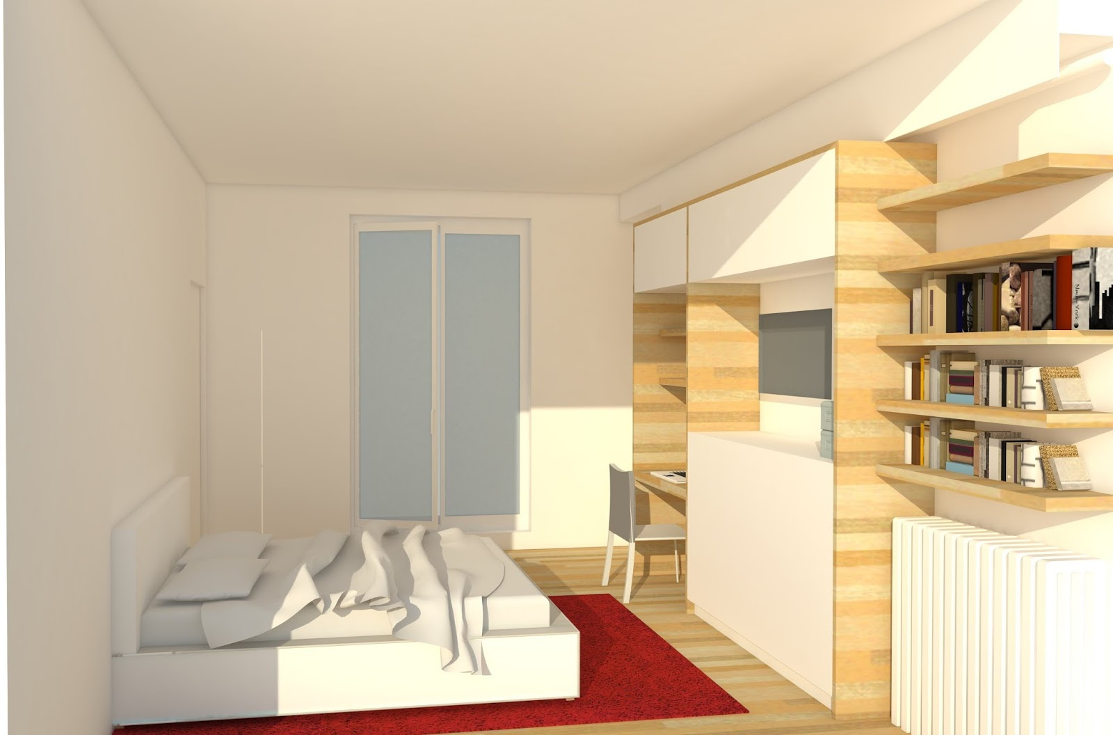 Projet à l étude aménagement d une chambre parentale paris