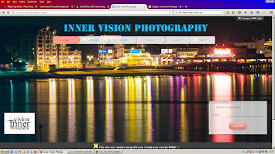 Inner Vision Photography Web Site