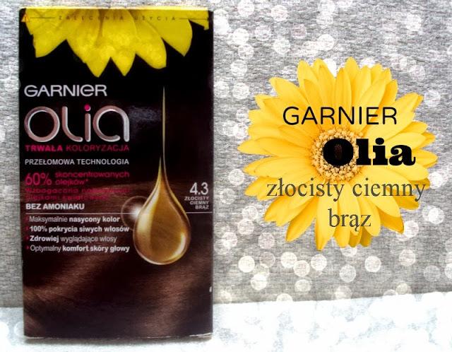 Garnier, Olia (Farba do włosów) Złocisty ciemny brąz.