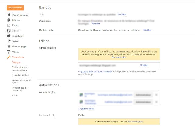 """Conseil Iscomigoo #3: Cliquez sur """"Paramètres"""" et modifiez vos données"""
