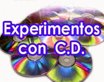 experimentos con discos compactos