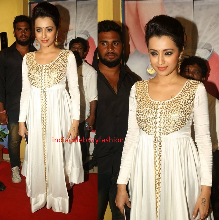 Trisha in Prathyusha Garimella Outfit