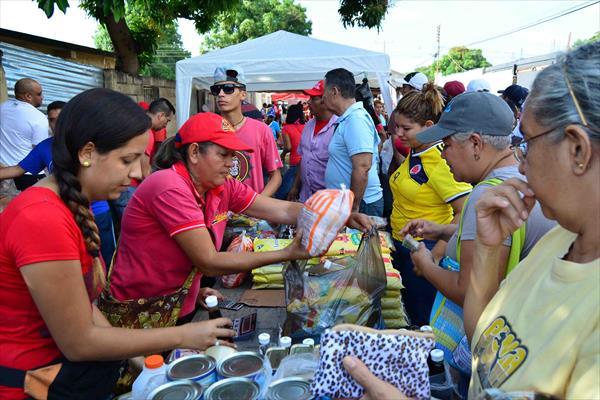 Ataque económico al pueblo de Venezuela