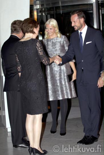 Royals & Fashion: Visite d'Etat du président de Finlande ...