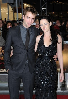 Robert Pattinson and Kristin Stewart