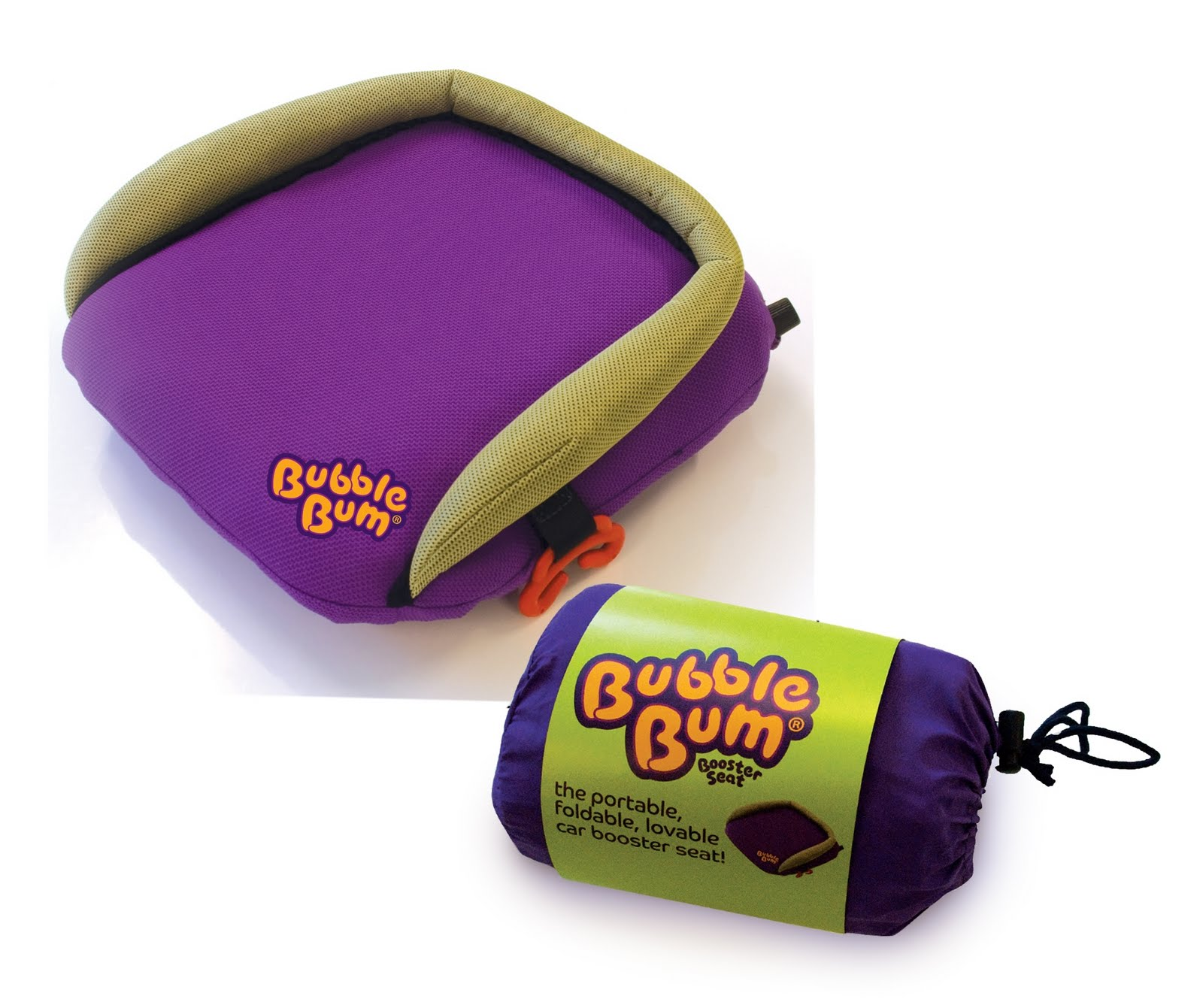 The Five Fs blog: Review: BubbleBum booster seat
