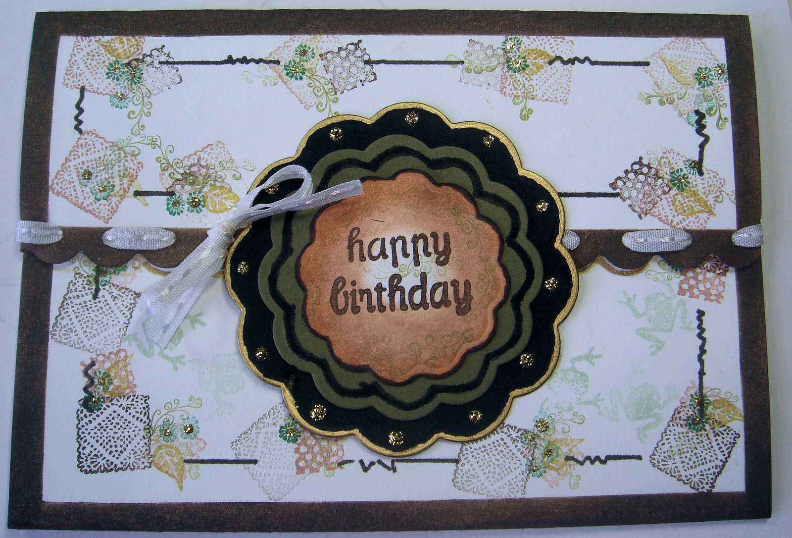 In a World of Craft Manly Birthday Card – Manly Birthday Cards