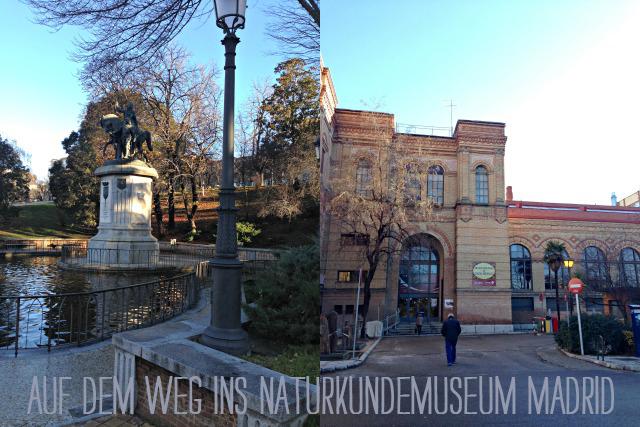unterwegs mit Kindern zum Naturkundemuseum in Madrid