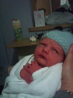 6lb newborn twin boy