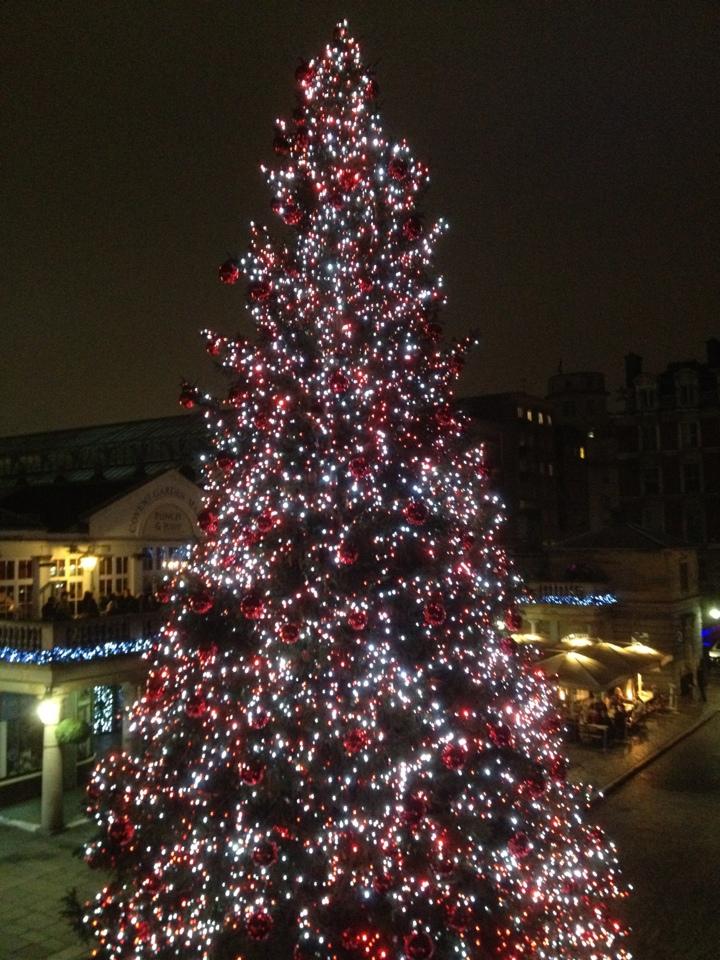 Covent Garden Christmas Tree Maintenance London Hadyn 39 S Blog