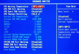 BIOS Hardware Monitor