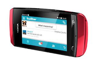Nokia Asha 306, harga dan Spesifikasi