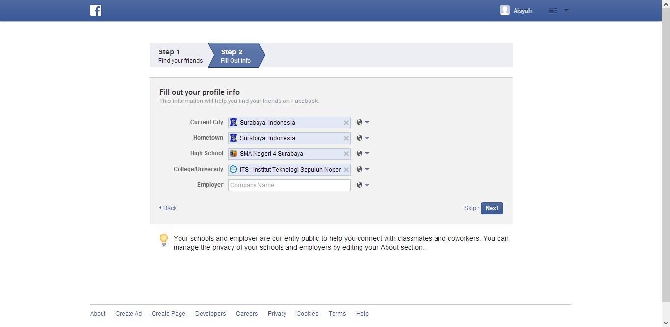 Cara Daftar Membuat Facebook gambar 2