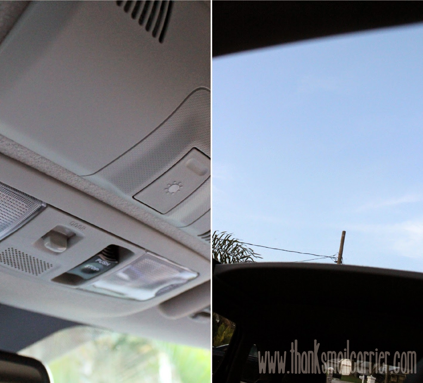 Mitsubishi Outlander Sport sunroof