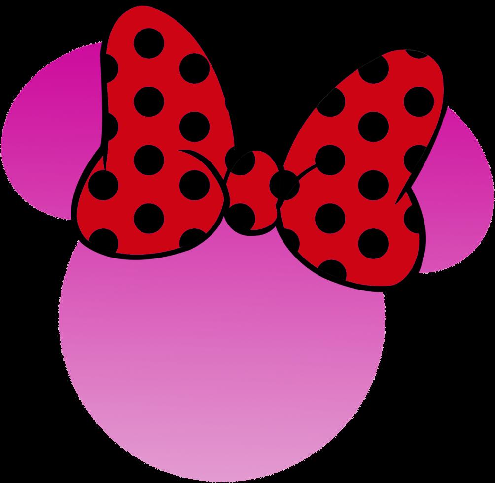 Moldes de moño de Minnie Mouse - Imagui