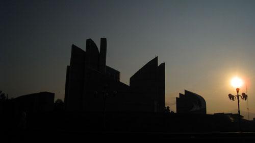 Langit Sore Monumen Perjuangan