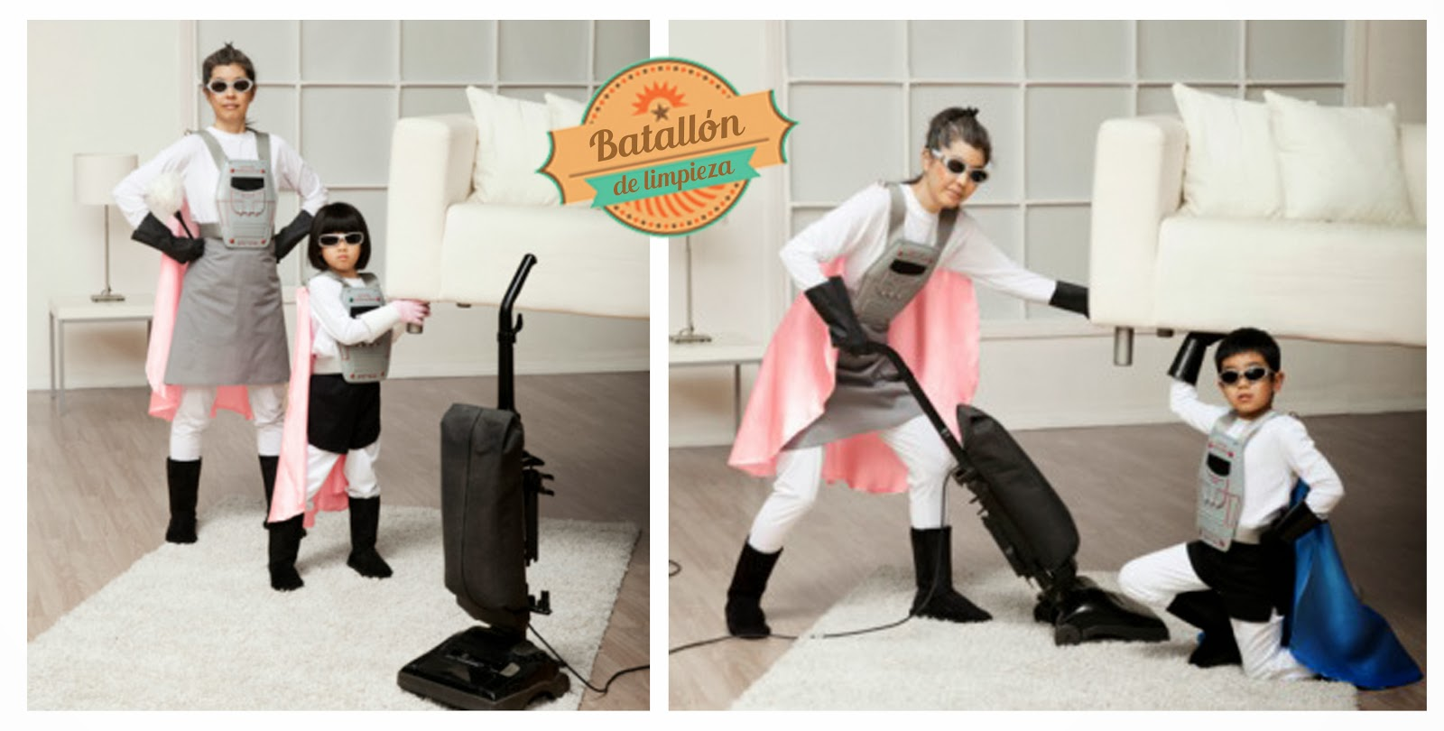 Publicidad sexista la mujer como ama de casa batall n for Anuncios de limpieza