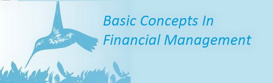 Basic Concepts In Financial Management