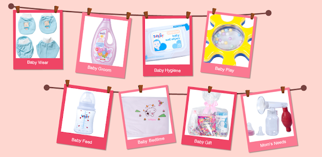 Tollyjoy's wide selection of products as seen on their website