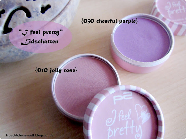 Review p2 I Feel Pretty Eyesahdow JOLLY ROSE & CHEERFUL PURPLE