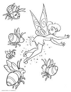 Mewarnai Gambar TinkerBell