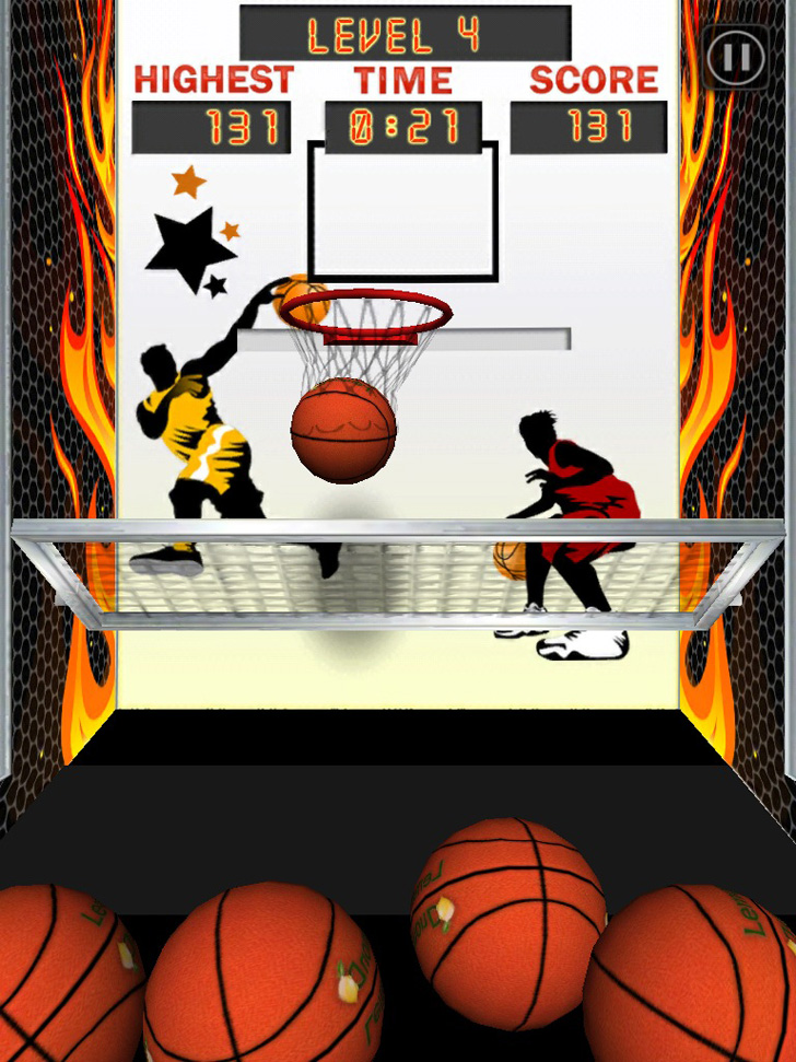 Basketball Arcade Machine Free App Game By MUGOCO Inc