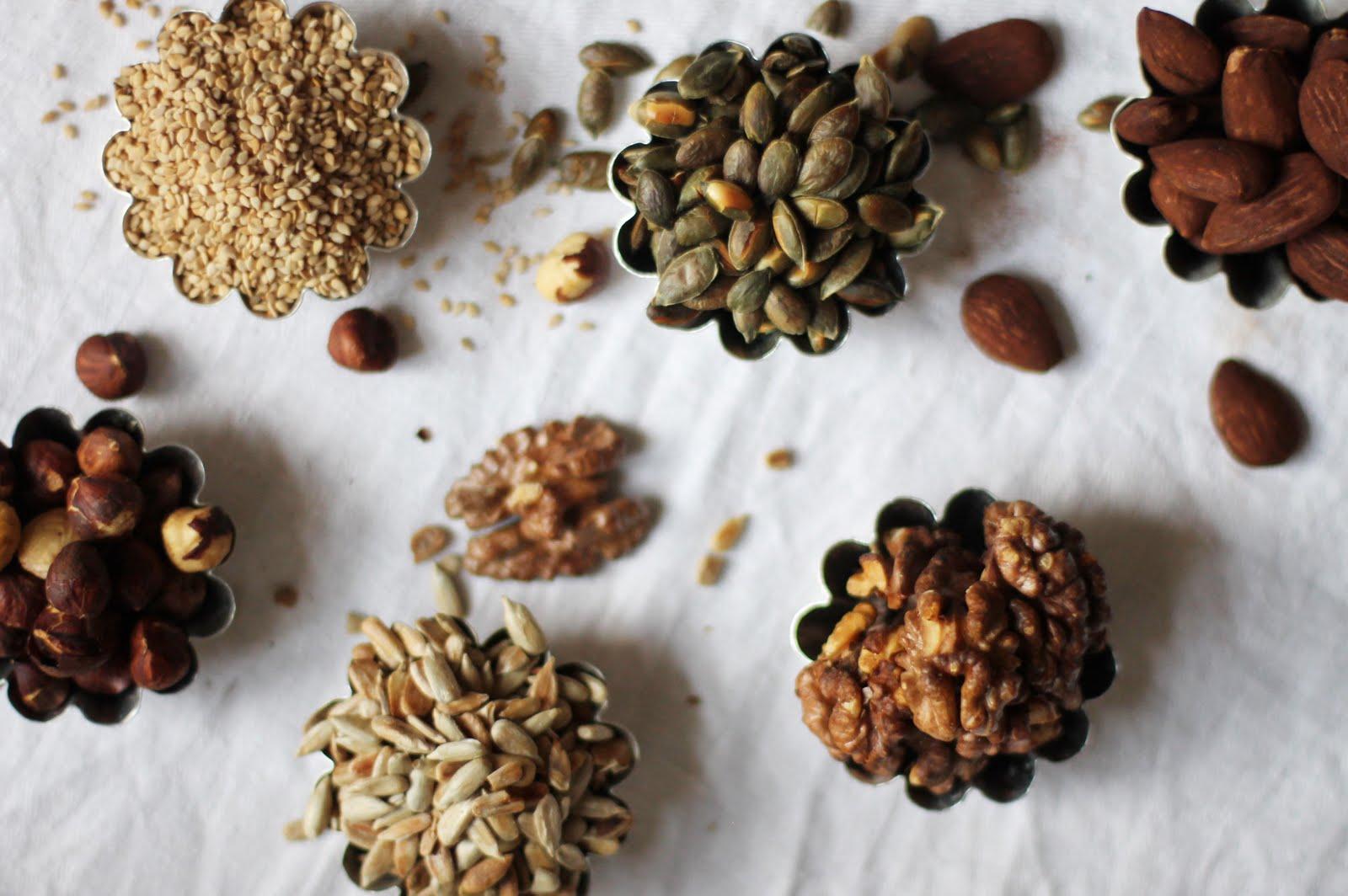 hur rostar man nötter